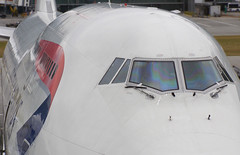 747 curves (George Baritakis) Tags: airplane boeing boeing747 aviation photography classic airport britishairways