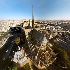 Notre-Dame (jerome THOT59) Tags: notredame notre dame paris france drone above chevet roof toit toiture choeur fleche top flyview