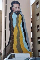 Famalicão (Portugal) - street art (jaime.silva) Tags: famalicão acasaaolado portugal portugalia portugalsko portugália portugalija portugali portugale portugalsk portogallo portugalska portúgal portugāle painting paint júliobrandão spraypaint spraypainting muralpainting spray mural pinturamural streetart streetartist street graffiti graf urban urbanart arteurbana