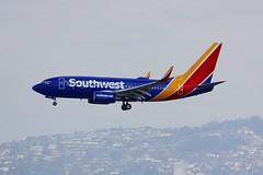 B737 N949WN Los Angeles 22.03.19 (jonf45 - 5 million views -Thank you) Tags: airliner civil aircraft jet plane flight aviation lax los angeles international airport klax southwest airlines boeing 737 n949wn b737