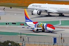 B737 N280WN Los Angeles 22.03.19-1 (jonf45 - 5 million views -Thank you) Tags: airliner civil aircraft jet plane flight aviation lax los angeles international airport klax southwest airlines boeing 737 n280wn b737