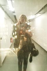 P7 (Djuliet) Tags: 365days selfportrait year13 p7 paris7 corridor