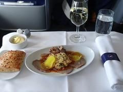 201903080 LH404 FRA-JFK dinner (taigatrommelchen) Tags: 20190414 flyingmeals airplane inflight meal food dinner business dlh lufthansa lh404 b747800 dabyn frajfk