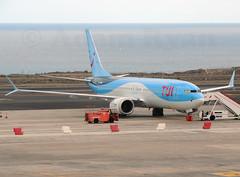 G-TUMF - TUI Airways B737 MAX-8 (✈ Adam_Ryan ✈) Tags: tfs tenerifesouth tenerife canaryislands canaries spain airport airbusboeing aircraft sun p510 plane planespotting flight boeing 737 max 8 b737max8 b737 b737max groundedaircraft grounded 2019 march april crash incident worldwide ethiopian lionair b737max8crash boeing737max8 tui tuiairways norwegian eifyi gtumf manchesterairport helsinki uk finland fleet