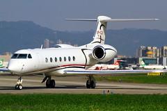 Jet Aviation Hong Kong Gulfstream G-5SP VP-CLK (Manuel Negrerie) Tags: vpclk tsa gulfstream g5 bizjet jetaviationhongkong hk songshanairport taipei taxiway spotting aviation plane jet executive design technology vip