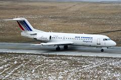 F-GLIU (PlanePixNase) Tags: aircraft airport planespotting haj eddv hannover langenhagen airfrance fokker 70 f70