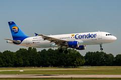 D-AICB (PlanePixNase) Tags: aircraft airport planespotting haj eddv hannover langenhagen condor airbus 320 a320