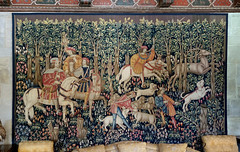 The Stag Hunt (█ Slices of Light █▀ ▀ ▀) Tags: billiards room french flemish 15th century dyed wool tapestry hunt mille fleur castillo hearst castle 赫斯特 赫斯特城堡 william randolph san simeon california 加州 加利福尼亞 usa sony rx1rm2 rx1rii rx1r ii m2