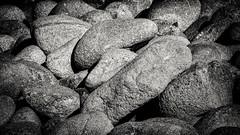Rocks No.1  B&W (CDay DaytimeStudios w /1 Million views) Tags: ca pebblebeach water 17miledrive pacificcoasthighway bluesky california highway1 montereyca pacificgrove carmelca ocean pacificcoast beach sky seascape coastline landscape rocks montereybay