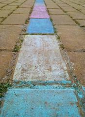 Color My World (★Aymerich★) Tags: chalk ground floor colors tiles paint decorate tiza suelo baldosas colores pintar decorar aymerich