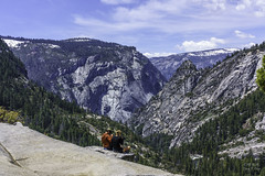 The view at the top of Nevada Falls in Yosemite, California (ttchao) Tags: sony ilce7rm3 a7riii a7r3 24105mm fe24105mmf4goss yosemite nevadafalls landscape