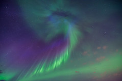 Coronal Explosion (Christy Turner Photography) Tags: stars night nightscape astrophotography moon auroraborealis