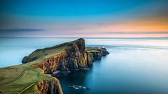 Neist Point Sunset (petebristo) Tags: niecepoint sunset seascape sea scotland scotishwalks
