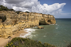 Praia da Marinha (dckellyphoto) Tags: praiadamarinha portugal 2019 ocean water beach sky clouds canon6dmarkii travel europe algarve coast rocks