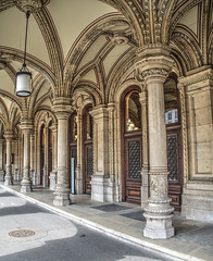 Wiener Staatsoper Entrance (Cocoabiscuit) Tags: cocoabiscuit vienna austria ringstrasse olympus omdem5 wien wienerstaatsoper