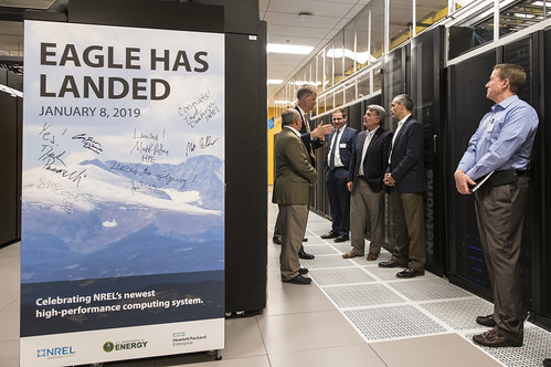 U.S. Senator Cory Gardner of Colorado visits NREL