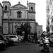 Piazza Gesù e Maria, Napoli, Italia