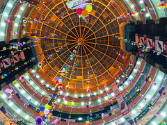 Raining Happiness (smzoha) Tags: roof dome design balloons celebration decor decorations kites colors colorful architecture building mall inside vibrant mobilephotography boishakh dhaka bangladesh tradition