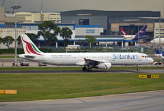 A321-231 4R-ABQ Srilankan airlines (renebartels) Tags: srilankanairlines airbusa321