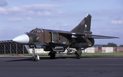 MIG-23ML 2425 EGVA 170797 CLOFTING P (Chris Lofting) Tags: mig23ml 2425 fairford riat czech air force