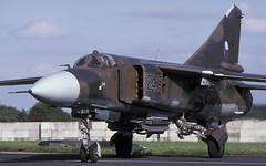 MIG-23ML 2425 EGVA 170797 CLOFTING 1 P (Chris Lofting) Tags: mig23ml 2425 fairford riat czech air force