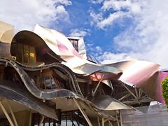 Ciudad del Vino # 5 (schreibtnix on'n off) Tags: reisen travelling europa europe spanien spain gebäude building frankogehry futuristisch futuristic ciudaddelvino olympuse5 schreibtnix