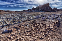 Dry, drier, driest (marko.erman) Tags: cordilleradelasal saltmountains chile atacama andes southamerica latinamerica desert salt dry driest arid mineral backlight sony uwa ultrawideangle beautiful nature wilderness outdoor outside patterns
