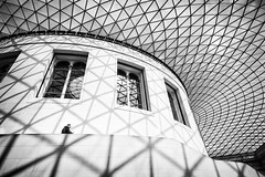 "Often, Solitude is Best Society (""The Wanderer's Eye Photography"") Tags: 2019 bangalore britishmusuem canoneos450d canoneosdslr canoneosrebelxsi digitalphotography england india lifeandlines london photography rubenalexander susanalexander thewandererseyephotography uk visitbritain visitlondon abstract alone architectural architecture art bw black blackwhite britain british building ceiling glass interior light lines londoner londonist man minimalistic monochrome museum patterns people shadow shadows silhouette solitude staircase street top travel up urban walk white"