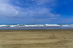 66th Mile (Sarah Fraser63) Tags: newzealand nz 90milebeach northland northisland ni beach coast sand sea coastline waves sky blue water sonya77 mothernature