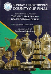 3 (Dale James Photo's) Tags: the jolly sportsman football club bearwood wanderers fc berks bucks fa sunday junior trophy county cup final bbfacountycups arbour park slough town non league