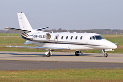 Cessna 560XL Citation XLS Plus - OM-XLS - HAJ - 17.04.2019 (Matthias Schichta) Tags: