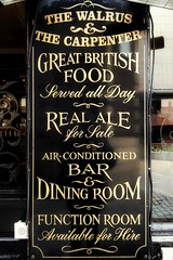 The Real Thing (Мaistora) Tags: pub bar restaurant tavern local traditional historic history literary celebrity iconic sign plate board glass design style black gold golden gilded writing text typography font elegant stylish vintage advertising commerce marketing meetingplace wateringhole socialnetworking city bankers brokers insurers business businessmen businesswomen crowd squaremile thecityoflondon monument bank londonbridge london england britain uk british character atmosphere phone mobile samsunggalaxys8 samsung galaxy android app snapseed
