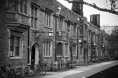 Princeton dormitories (Yuri Dedulin) Tags: princeton dormitories nj newjersey history university yuri dedulin scholars scientists college building landscape bw monochrome blackandwhite