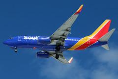 N797MX Southwest 737-7H4W at KCLE (GeorgeM757) Tags: n797mx southwest 7377h4 boeing kcle georgem757 canon70d landing aircraft aviation airplane