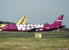 WOW AIR A320 D-AAAF (Adrian.Kissane) Tags: ireland 4305 552019 shannon wowair a320 daaaf stored plane aircraft aeroplane jet shannonairport airbus airport