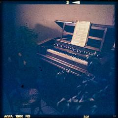harmonium I (*altglas*) Tags: retro old harmonium organ mediumformat 6x6 color agfa1000rs expired expiredfilm analog film superikonta zeiss