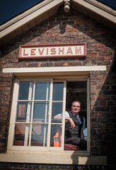 Levisham signal man John Phillip. (blair.kooistra) Tags: 2019 britain england heritage heritagerailways steam uk northyorkshiremoorsrailway railway locomotive northyorkmoors goathland whitby grosmont lms lner southernrailway