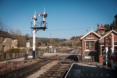 Levisham, North Yorkshire Moors Railway. Pinch yourself--such places still exist. (blair.kooistra) Tags: 2019 britain england heritage heritagerailways steam uk northyorkshiremoorsrailway railway locomotive northyorkmoors goathland whitby grosmont lms lner southernrailway