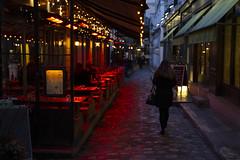Rouge et Bleu (Aphélie) Tags: paris street night