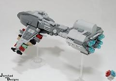 DSC_1388 (Jorstad Designs, LLC) Tags: lego star wars rebel alliance fleet mon calamari scale moc ucs jorstad designs llc mc80a mc80b home one liberty cruiser class hammerhead corvette mc30c frigate dp20 blockade runner
