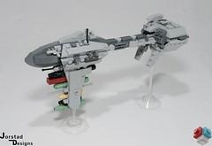 DSC_1385 (Jorstad Designs, LLC) Tags: lego star wars rebel alliance fleet mon calamari scale moc ucs jorstad designs llc mc80a mc80b home one liberty cruiser class hammerhead corvette mc30c frigate dp20 blockade runner