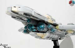 DSC_1360 (Jorstad Designs, LLC) Tags: lego star wars rebel alliance fleet mon calamari scale moc ucs jorstad designs llc mc80a mc80b home one liberty cruiser class hammerhead corvette mc30c frigate dp20 blockade runner