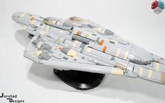 DSC_1359 (Jorstad Designs, LLC) Tags: lego star wars rebel alliance fleet mon calamari scale moc ucs jorstad designs llc mc80a mc80b home one liberty cruiser class hammerhead corvette mc30c frigate dp20 blockade runner