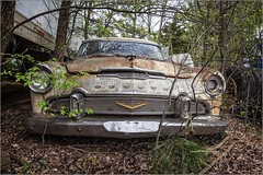 DeSoto (A Anderson Photography, over 3.5 million views) Tags: abandoned car desoto canon rust chrome