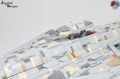 DSC_1356 (Jorstad Designs, LLC) Tags: lego star wars rebel alliance fleet mon calamari scale moc ucs jorstad designs llc mc80a mc80b home one liberty cruiser class hammerhead corvette mc30c frigate dp20 blockade runner