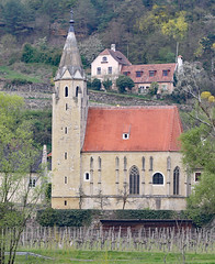 Pfarrkirche with Vineyard in Willendorf Wachau Valley (photo_paddler) Tags: europe austria wachauvalley village day spring color outdoor availablelight