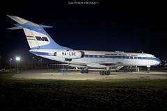 [Budapest] Tupolev Tu-134 Malév Hungarian Airlines (gauthierbonnet) Tags: malév hungarian airlines tupolev tu134 halbe lhbp