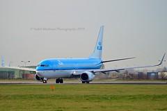 """Robin / Roodborstje"" KLM Royal Dutch Airlines PH-BXV Boeing 737-8K2 Winglets cn/30370-2205 ""XV-315"" @ Aalsmeerbaan EHAM / AMS 25-12-2015 (Nabil Molinari Photography) Tags: robinroodborstje klm royal dutch airlines phbxv boeing 7378k2 winglets cn303702205 xv315 aalsmeerbaan eham ams 25122015"