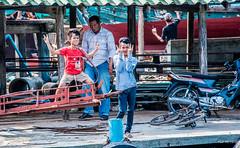 2019 - Cambodia - Sihanoukville - Tumnuk Rolok (Ted's photos - Returns late November) Tags: 2019 cambodia cropped nikon nikond750 nikonfx tedmcgrath tedsphotos vignetting boys tumnukrolok tumnukroloksihanoukville sihanoukville tumnukrolokcambodia posing bicycle motorcycle ក្រុងព្រះសីហនុ