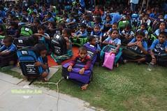 WFABTS08483 (Wisdomforasia) Tags: backpacks backtoschool wisdomforasia village children helping schoolsupplies